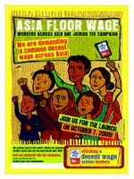 Asia Floor Wage poster