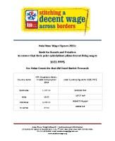 Asia Floor Wage Figures