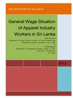 General Wage Situation of Apparel Industry Workers in Sri Lanka