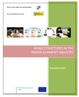 Wage Structures in the Indian Garment Industry