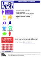 Press Kit Living Wage action week