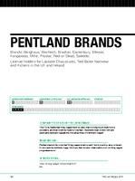 Pentland profile