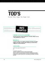 tods profile