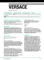 versace profile