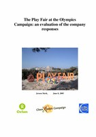 The Play Fair at the Olympics Campaign: an evaluation of the company responses