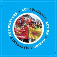 CCC Solidarity Action: Making a Difference for Workers