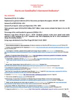 Cambodia Factsheet February 2015