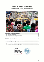 Rana Plaza Three Years On: Compensation, Justice and Workers' Safety - Full Report