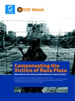 Compensating the Victims of Rana Plaza What Role for the OECD and the National Contact Points?