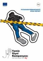 Potassium permanganate spray report
