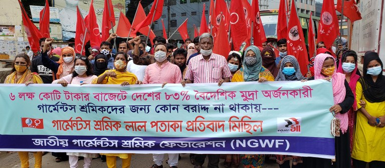 ngwf protest june 2021
