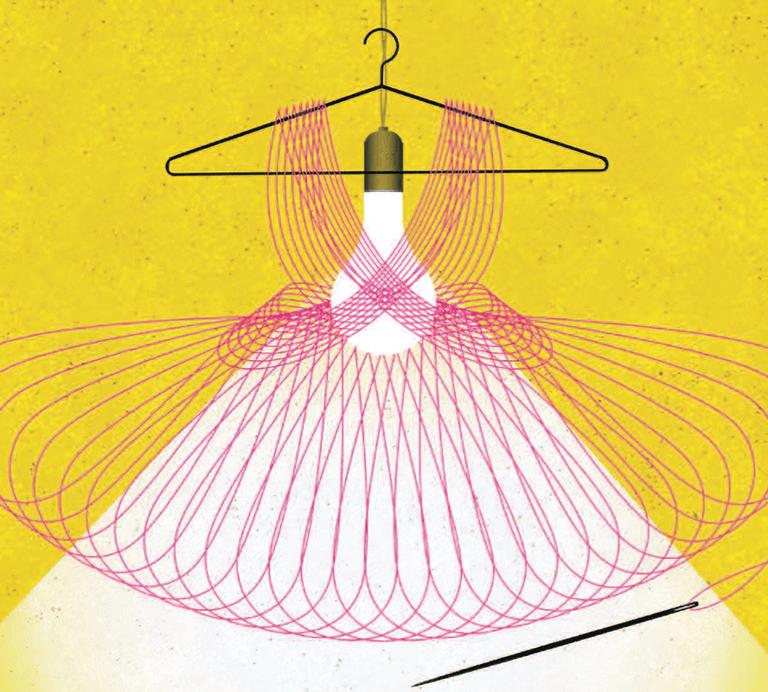 Transparency hanger