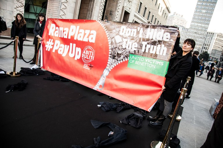All over the world, people campaigned after the Rana Plaza disaster