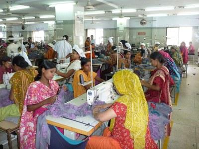 A factory in Bangladesh