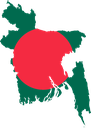 Flag map of Bangladesh.svg