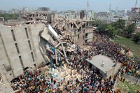 Labels Primark and Mango found after factory collapse Bangladesh