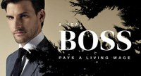 Tell Hugo Boss: a real boss pays a living wage