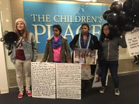 Rana Plaza survivor and others arrested at Children's Place headquarters