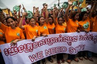 CCC slams meager minimum wage hike in Cambodia