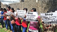 Hundreds of women workers part of longest running strike in the Katunayake Investment Promotion Zone