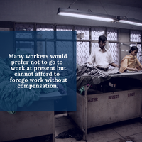 COVID-19 continues to ravage the health and livelihoods of garment workers