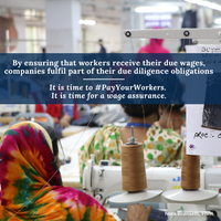 August 2020: How the Coronavirus affects garment workers in supply chains