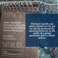 July 2020: How the Coronavirus affects garment workers in supply chains