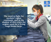 May 2020: Coronavirus and garment workers in supply chains